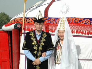 Kyrgyz wedding