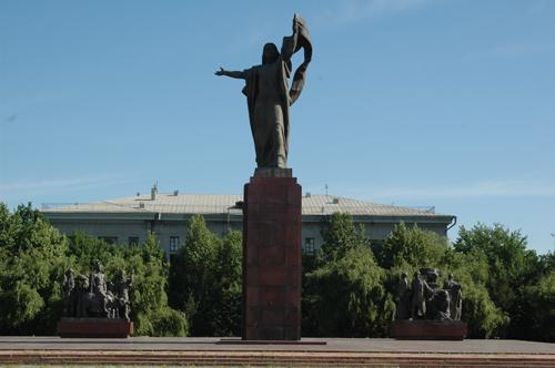 Monument to the Martyrs of Revolution, Urkuya Salieva