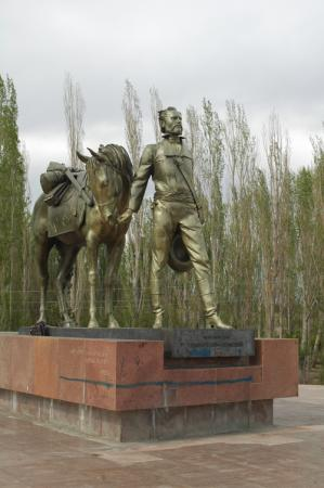 Monument of Semenov Tienshansky, Russian Explorer