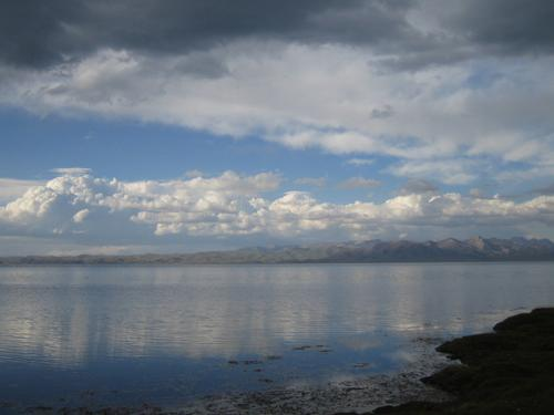 At the shore of Son-Kul lake