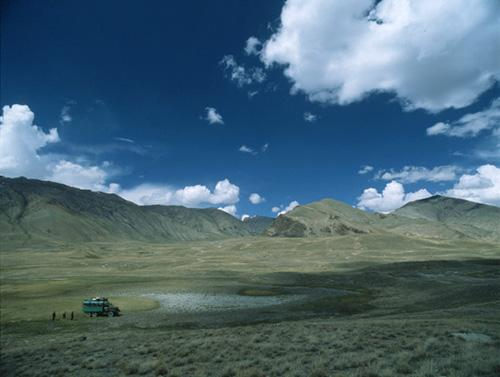 Expedition in the Tien Shan